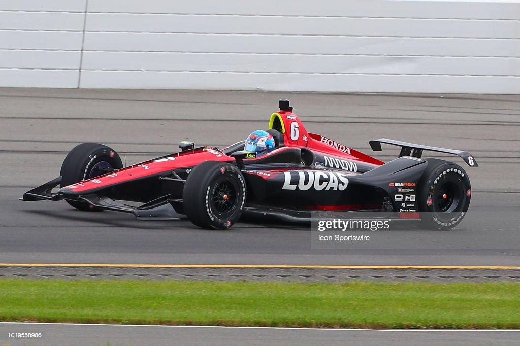 AUTO: AUG 19 IndyCar Series - ABC Supply 500 : News Photo