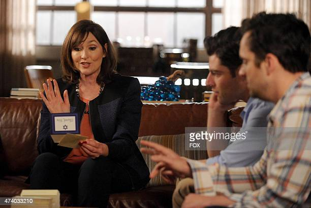 Schmidt's mom Louise has advice for Schmidt and Nick in the 'The Right Thing' episode of NEW GIRL airing Tuesday March 31 2015 on FOX