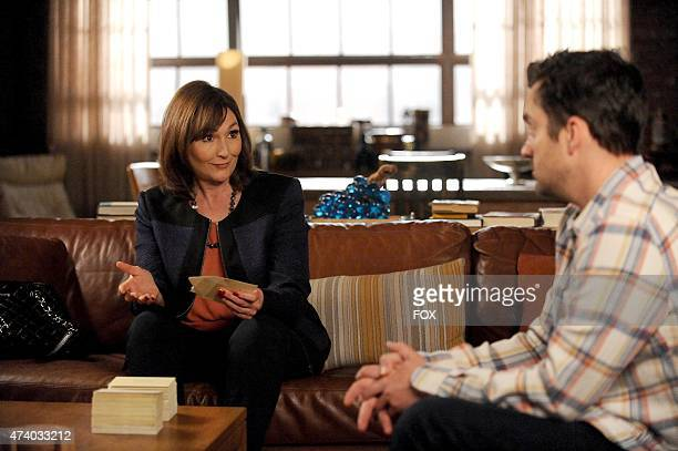 Schmidt's mother Louise has advice for Nick in the 'The Right Thing' episode of NEW GIRL airing Tuesday March 31 2015 on FOX