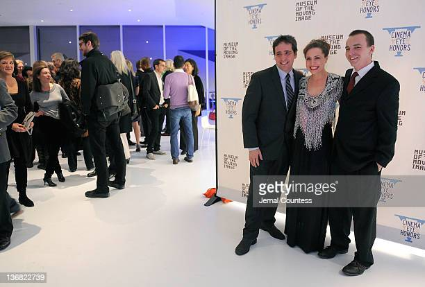 Schnack Esther Robinson and Nathan Trusdell attend the 5th Annual Cinema Eye Honors for Nonfiction Filmmaking at the Museum of the Moving Image on...