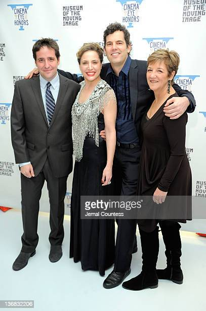 Schnack Esther Robinson Sean Farnel and Andrea Meditch attends the 5th Annual Cinema Eye Honors for Nonfiction Filmmaking at the Museum of the Moving...