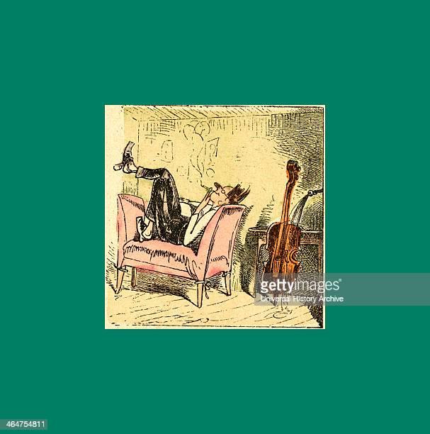 Schnaken And Schnurren Mosquitoes And Purring Wilhelm Busch 1832 1908 German Artist Humorist Poet Illustrator And Painter A Humorous Story In...