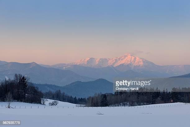 Schneeberg mountain, Jagasitz, Lower Austria, Austria, Europe