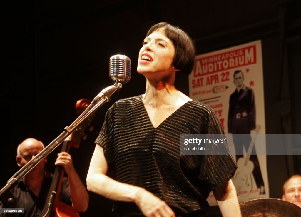 Schneider, Helen - Actress, Singer, Pop music, USA - as June Carter during premiere of 'Hello I'm Johnny Cash' im Renaissance Theater in Berlin, Germany