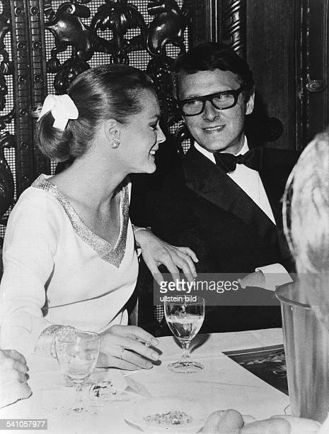 Schneider Romy *Schauspielerin D mit Ehemann Harry Meyen 1970