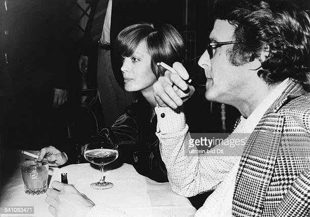Schneider Romy *Schauspielerin D mit Ehemann Harry Meyen 1971