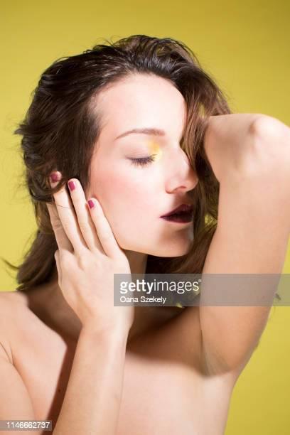 schönheit portraits - schönheit fotografías e imágenes de stock