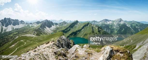 schochenspitze - panoramic stock-fotos und bilder