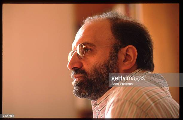 Scholar and dissident Abdulkarim Soroush poses December 8 1997 in Tehran Iran Having relaxed restrictions on the press and cultural expression during...