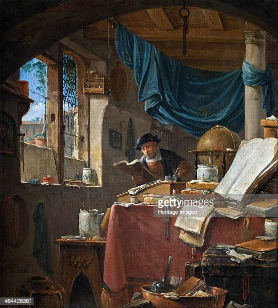 A scholar in his Study Found in the collection of the Hallwylska Museet Stockholm