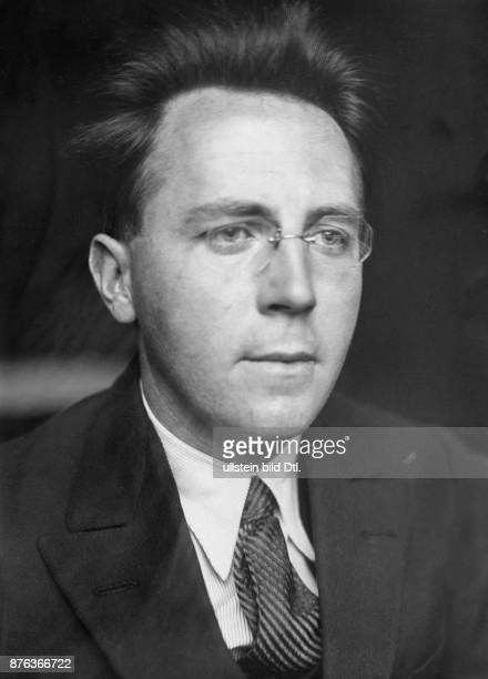 Scholar of Irish linguistics and Early Irish law diplomat Irland Irish ambassador in Berlin 19291932 Portrait 1929 Vintage property of ullstein bild
