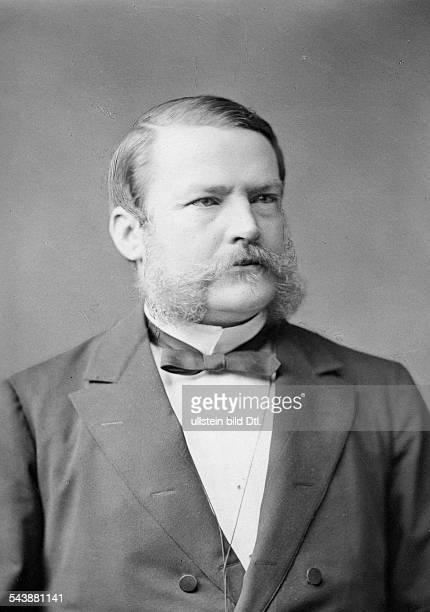 Scholz Adolf von Politican Germany*01111833full name Adolf Heinrich Wilhelm von ScholzPrussian Minister of Finance 18821890 Portrait undated...