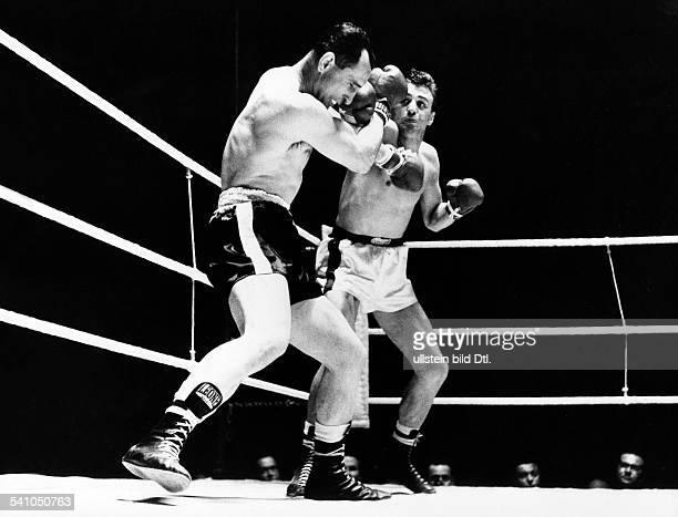 Scholz Gustav 'Bubi' *Boxer D Kampf gegen Calzavara 1959