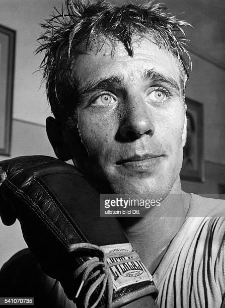 Scholz Gustav 'Bubi' *Boxer D Portrait 1954