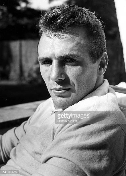Scholz Gustav 'Bubi' *Boxer D Portrait 1960