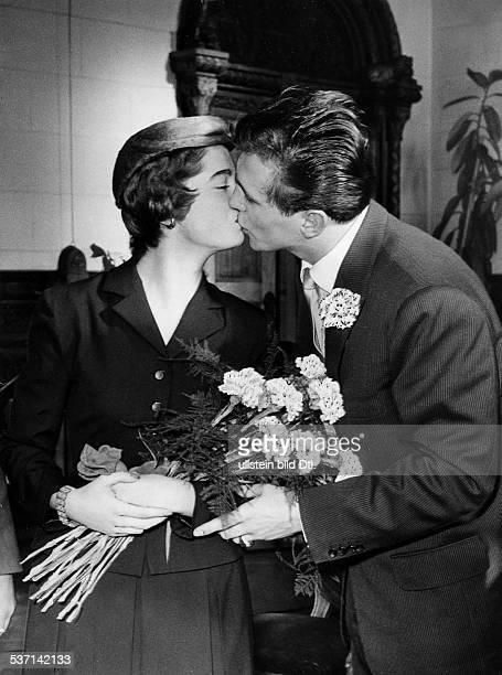Scholz Gustav 'Bubi' Boxer D standesamtliche Trauung mit Ehefrau Helga
