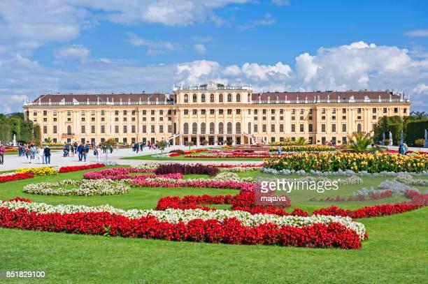 palácio de schonbrunn, viena - viena áustria - fotografias e filmes do acervo