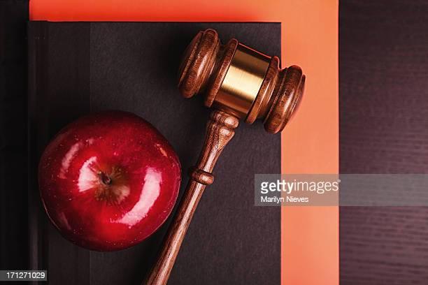 school & Justizsystem