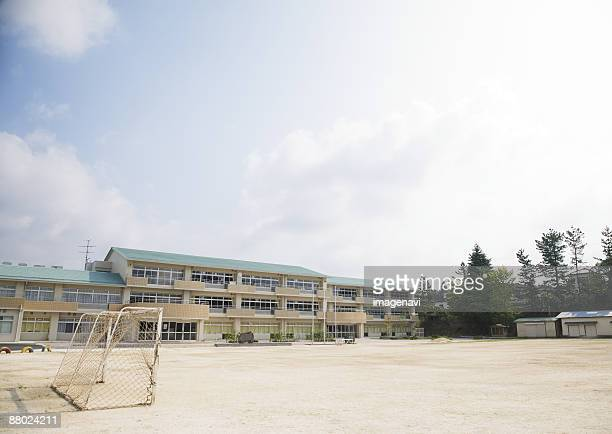 school building - elementary school stock pictures, royalty-free photos & images
