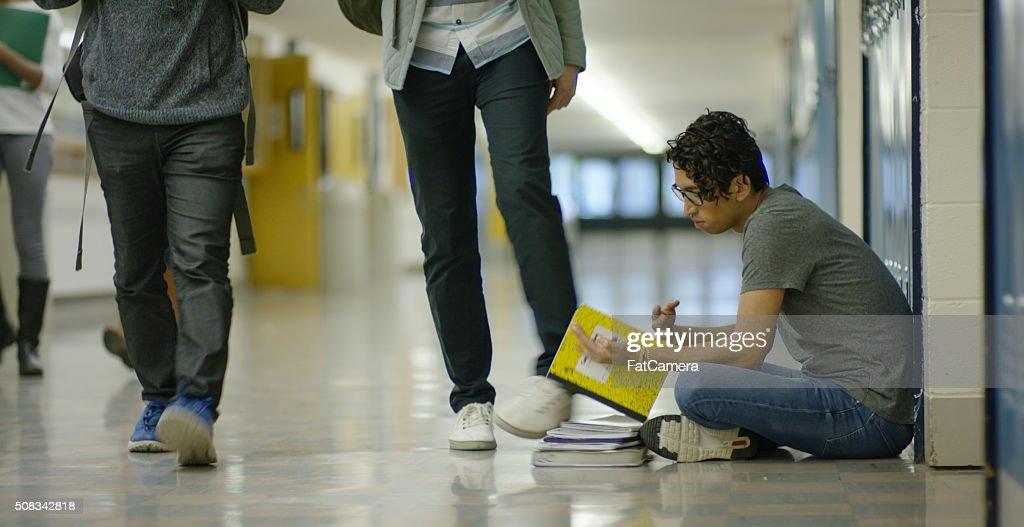 School bullying : Stock Photo