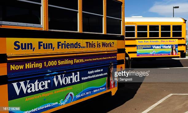 School Bus advertising is increasing in Colorado and Adams 12 just started placing advertising on their school buses one month ago, Tuesday, April...