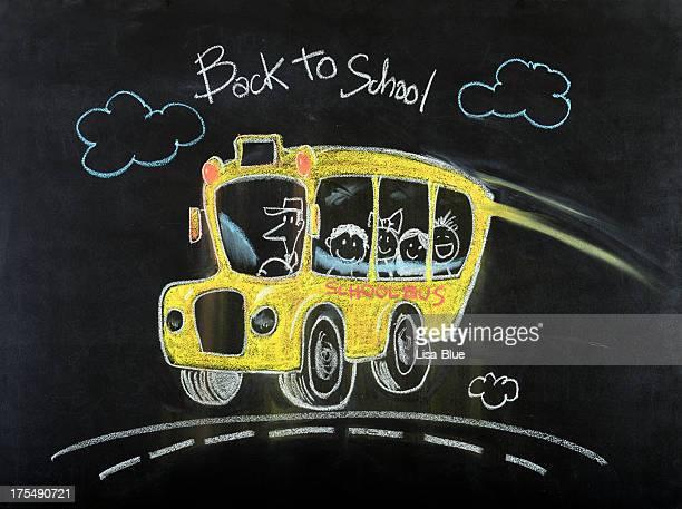 スクールバスの図面