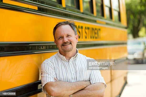 Conductor de autobús de colegio