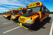 fleet school buses ready for upcoming
