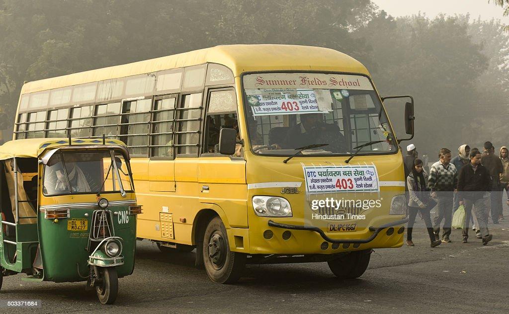 Odd-even Vehicular Restriction Trial Scheme In Delhi Photos and ...