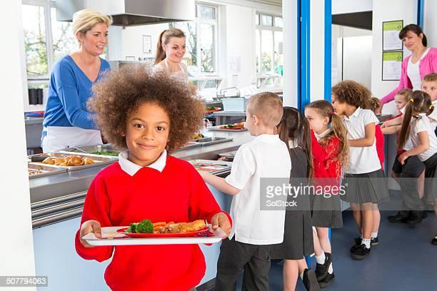 Escuela Caferteria línea