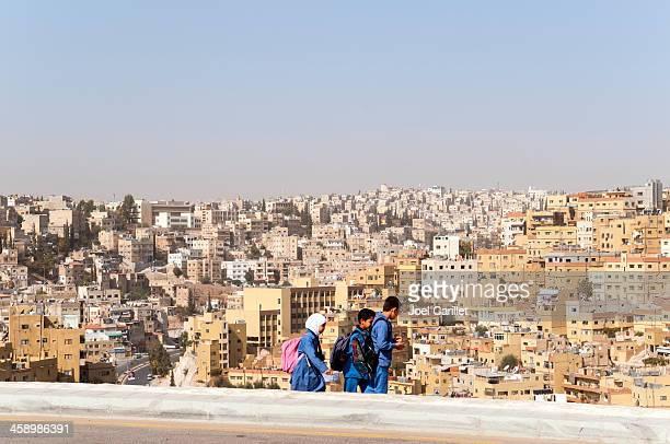 School children in Amman, Jordanien