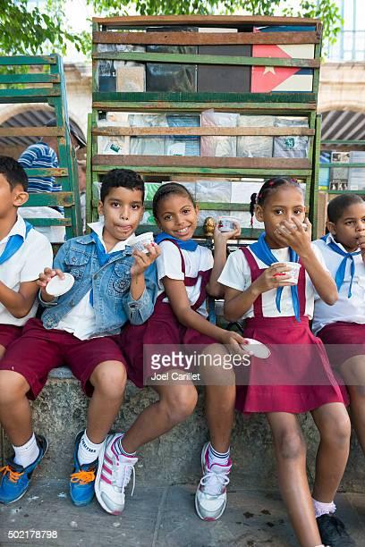 School children in Havana, Cuba