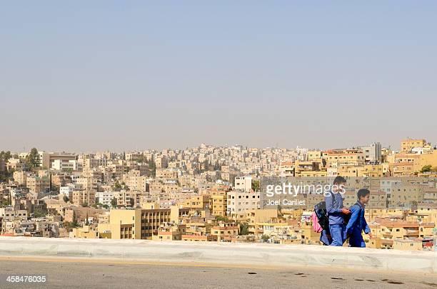 School children in Jordan