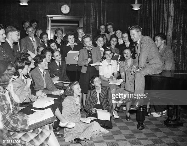 School Editors Interview Mickey Rooney New York Juvenile Actor News Photo Getty Images