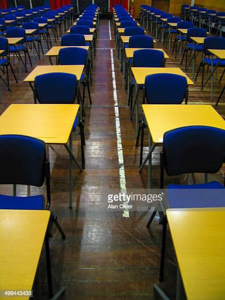 School exam hall