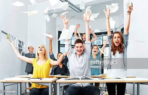 School is over