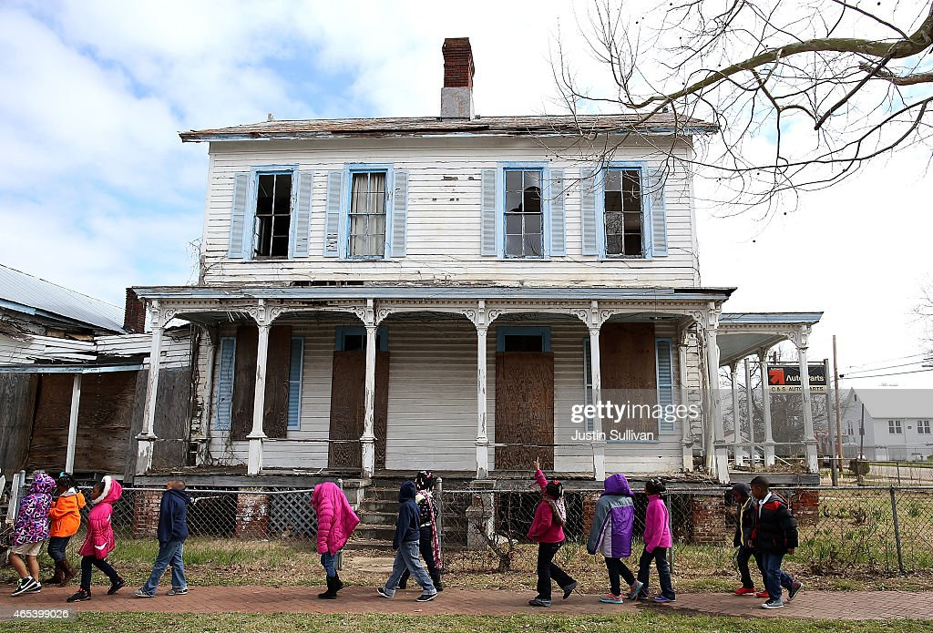 50 Years After Historic March, Selma Struggles Economically : News Photo