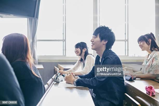 学校生活 - 大学生 ストックフォトと画像