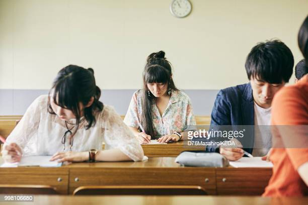 school life - japanese culture stock pictures, royalty-free photos & images