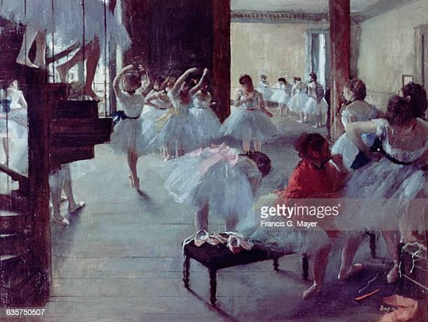 School of Ballet by Edgar Degas