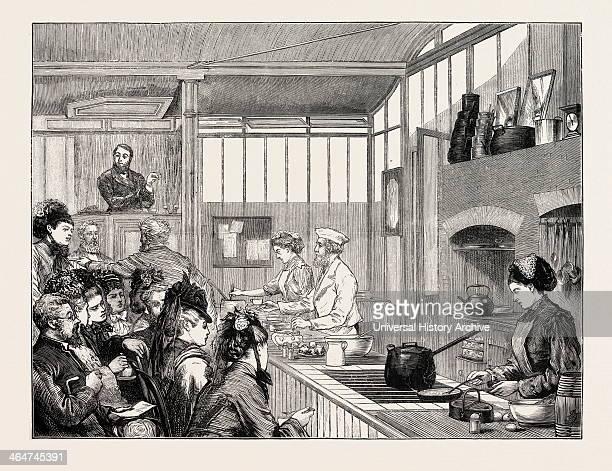 School Of Cookery At The International Exhibition Vienna Austria 1873