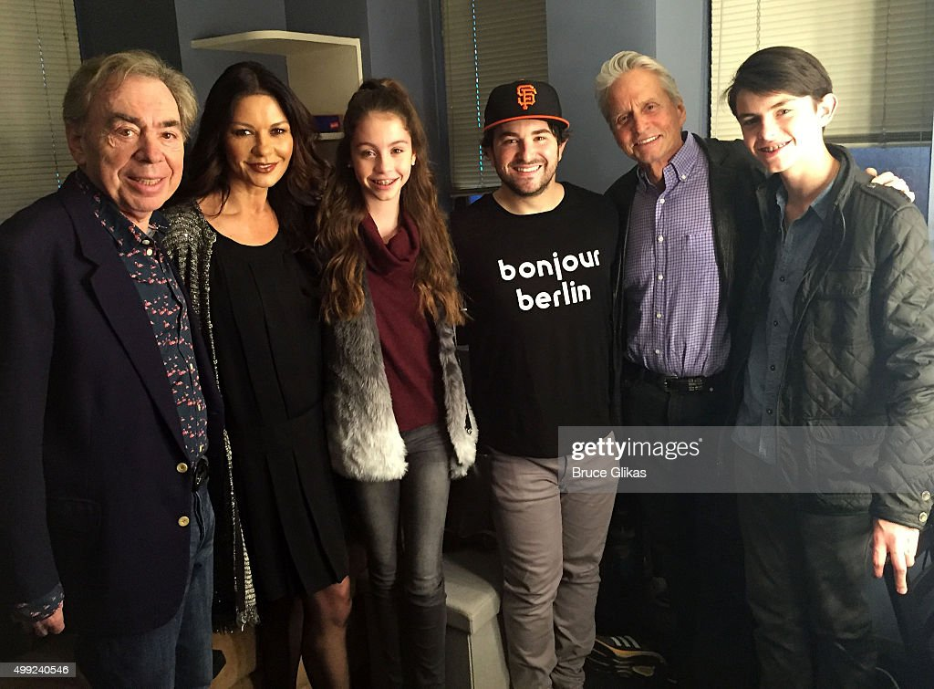 Celebrities Visit Broadway - November 29, 2015