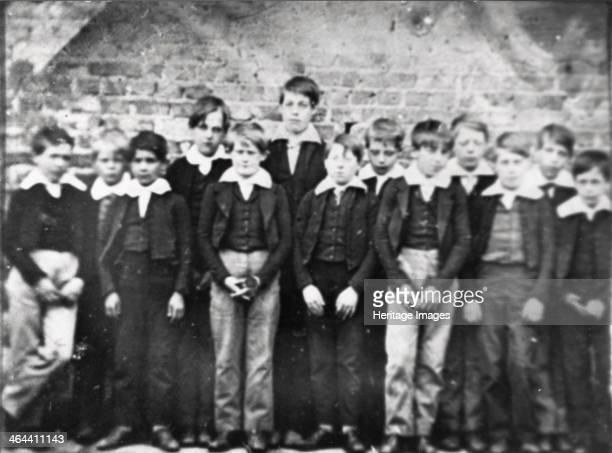 School photo, The York School , York, Yorkshire, 1848.