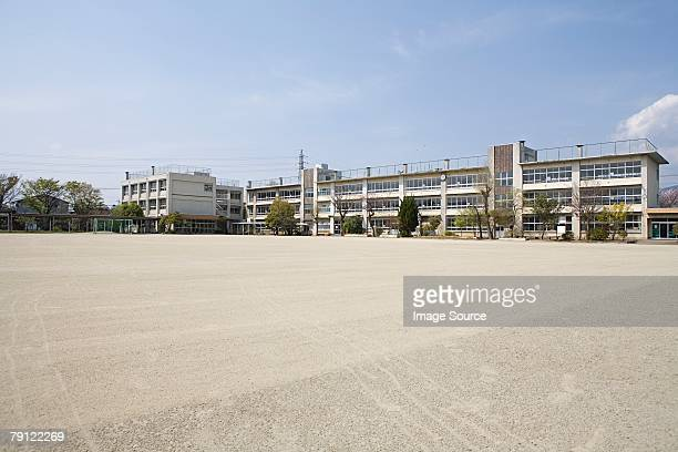 a school - school building stock pictures, royalty-free photos & images