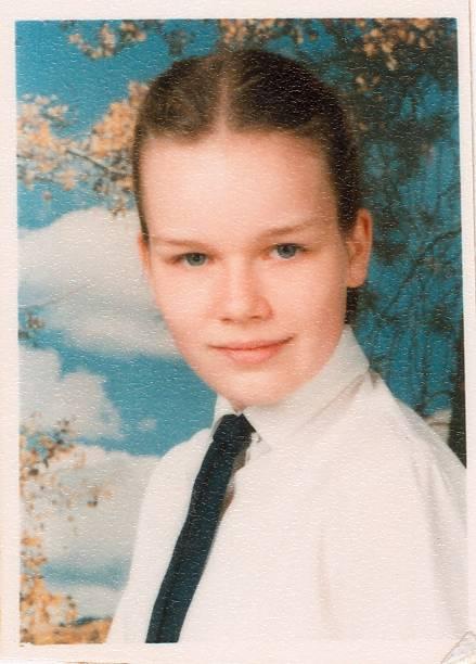 school-picture-of-mathilde-dudekem-dacoz-schoolyear-19871988-picture-id160954824