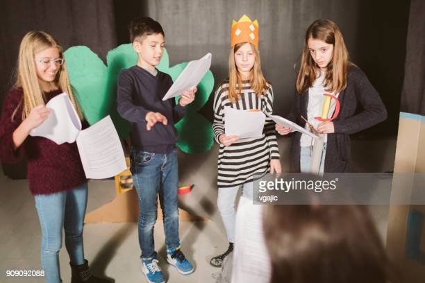 School Play Rehearsal