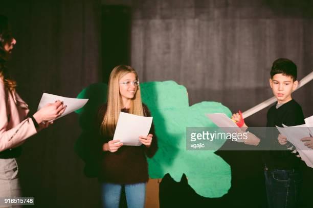 School Play Rehearsal