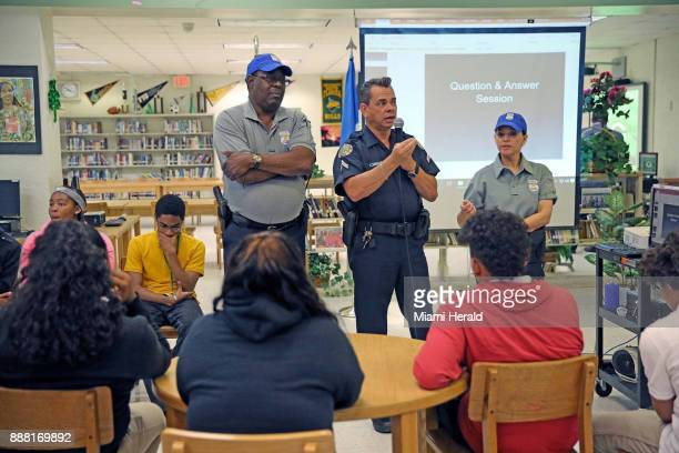 School police officers are among those to whom students can go to report inappropriate sexual behavior In this photo from March 21 Resource Officer...