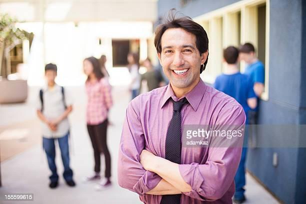 school principal on campus - school principal stock pictures, royalty-free photos & images
