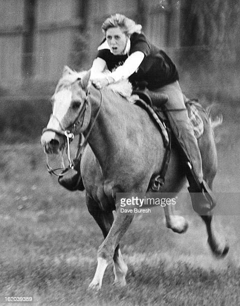 MAY 27 1977 MAY 28 1977 school start off in a threelegged race Right faculty member Ruth Glass urges horse on Of school's 540 students 112 took part